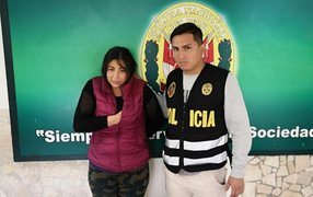 PNP captura a tendera que robaba a personas distraídas en Gamarra
