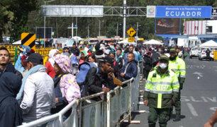 Ecuador: venezolanos que deseen ingresar al país deberán portar visa humanitaria