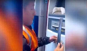 Santa Anita: colocan 'regleta' en cajero automático para impedir salida de billetes