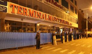 Clausuran terminal Marco Polo: propietario habría concesionado irregularmente el local