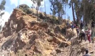 Áncash: falla geológica provoca grietas en tierra y viviendas de Yauya