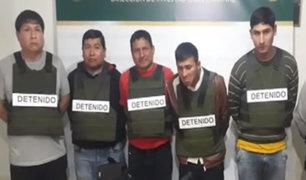 Cayeron ´Los injertos del cono este´: delincuentes que extorsionaban obras