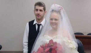 Joven pareja murió en accidente minutos después de su ceremonia de bodas