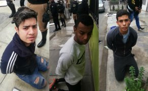 Los Olivos: PNP captura a banda de extranjeros que pretendía asaltar un banco