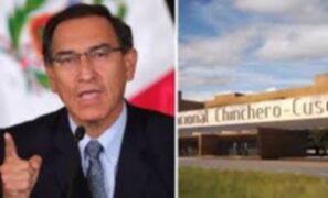 Diethell Columbus: Fiscalía debe esclarecer responsabilidad por adenda de Chinchero