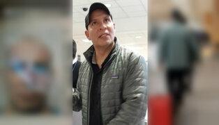 Adolfo Bazán: PJ dicta 15 días de impedimento de salida del país en su contra