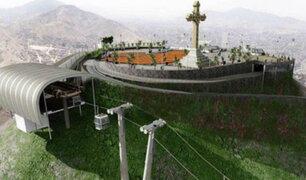 Teleférico del Cerro San Cristóbal cada vez más cerca de ser una realidad