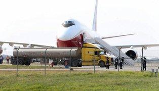 Chile envía primer avión cisterna a la Amazonía para combatir incendios