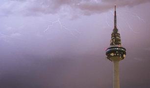 España: fuertes tormentas vienen afectando gran parte de la Península y Baleares