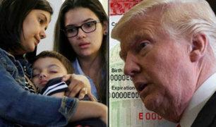 EEUU: Trump eliminó visa especial para tratamientos médicos
