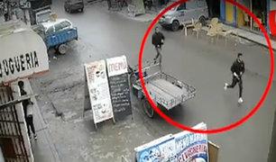 VES: cámaras captan fuga de 'marcas' que balearon a hermanos