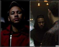 Neymar 'ficha' como actor en La Casa de Papel e interpreta a un monje