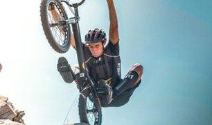 Ciclista queda gravemente herido al explotarle bomba de la Primera Guerra Mundial