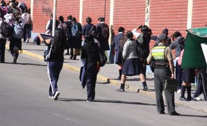 Tía María: 70% de escolares volvieron hoy a clases en Mollendo
