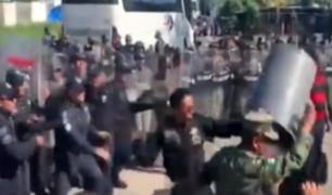 México: disturbios en estación migratoria de Chiapas