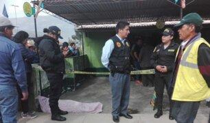 Huancayo: conductor muere tras ser impactado por el espejo de un camión