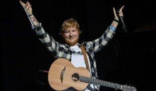 Ed Sheeran anunció su retiro temporal de la música