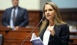 León espera que Olaechea convenza a Vizcarra de desistir del adelanto electoral