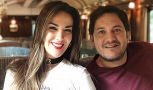 Captan a Silvia Cornejo subiéndose al auto de su esposo pese a comprometedor video