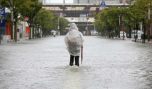 Japón: tres fallecidos dejan inundaciones tras fuertes lluvias