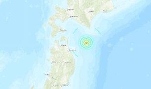 Sismo de 6,1 grados de magnitud remeció el norte de Japón