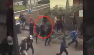 SJM: peleas de construcción civil atemorizan a vecinos