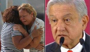 """López Obrador sobre atentado en bar que dejó 26 muertos: """"es lo más inhumano que puede haber"""""""
