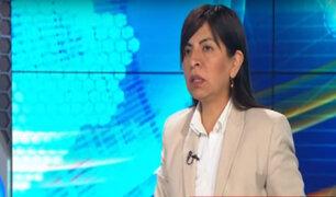 Giuliana Loza: está claro que no quieren a Keiko dentro de las elecciones