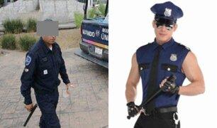 México: confunden a policía con stripper en fiesta
