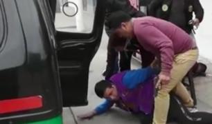 Huaral: detienen a banda cuando vendía mototaxi robada