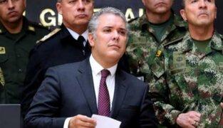 Iván Duque sobre anuncio de las FARC: Son narcoterroristas apoyados por Maduro