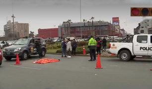 Cúster atropella y mata a motocilista en Surco