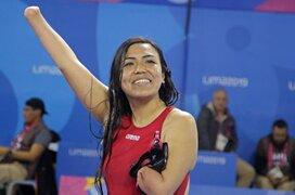 Lima 2019: ayacuchana Dunia Felices obtiene medalla de bronce en para natación