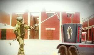 Así entrena el Escuadrón de Emergencias de la Policía Nacional