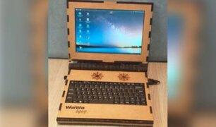 Wawalaptop: peruanos crean laptop con material reciclado