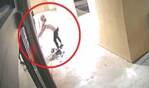 EEUU: mujer usó motosierra para robar clínica de bótox