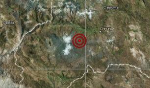 Arequipa: sismo de magnitud 3.4 remeció la provincia de Caylloma