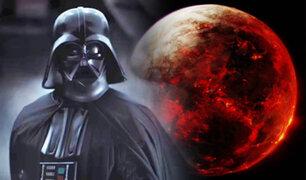 "Encuentran una ""exoLuna"" de lava similar a un planeta de Star Wars"