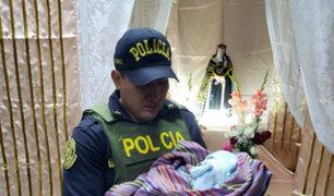 Áncash: abandonan a recién nacido en la puerta de una iglesia en Huaraz