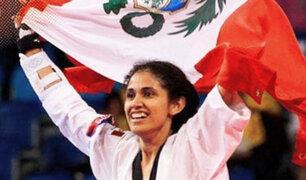Lima 2019:  Angélica Espinoza gana medalla de oro en Para Taekwondo