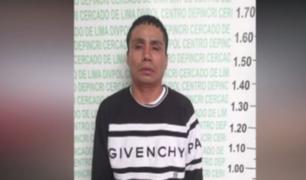 El Agustino: detienen a delincuente que arrastró a joven para robarle cartera
