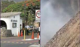 La Molina: vecinos denuncian problemas respiratorios por fétido olor