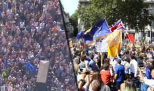 Reino Unido: miles salen a la calles contra el cierre del Parlamento británico