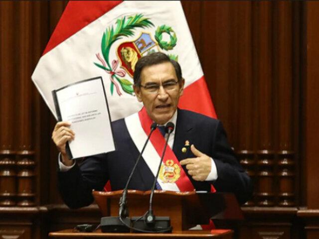 Fiscalización aprobó investigar Mensaje a la Nación del 28 de julio