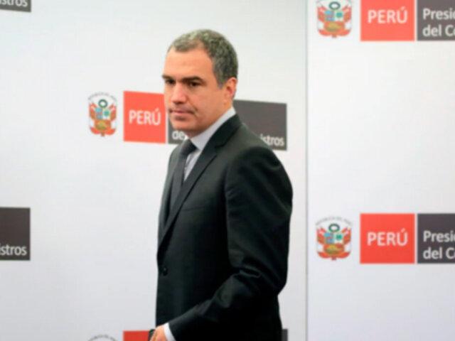 Adelanto de elecciones: Del Solar continúa hoy diálogo con FP y Bancada Liberal