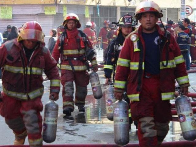Bomberos: casi el 50% de sus unidades de emergencia no funcionan