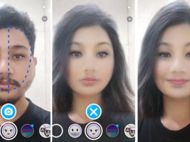 Estos son los filtros para cambiar el rostro que causan furor en la redes sociales