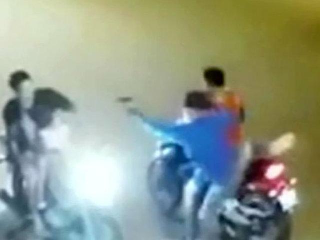 Violentos asaltos fueron captados en Loreto y Ucayali