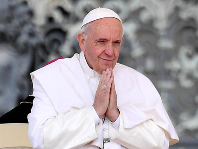 """Papa Francisco destaca labor de la prensa: """"Gracias por su trabajo"""""""