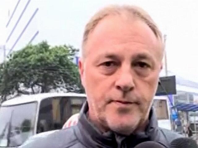 Alcalde Muñoz anuncia acciones para evitar derrumbes en la Costa Verde